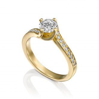 טבעת אירוסין טוויס ADR-00569-4