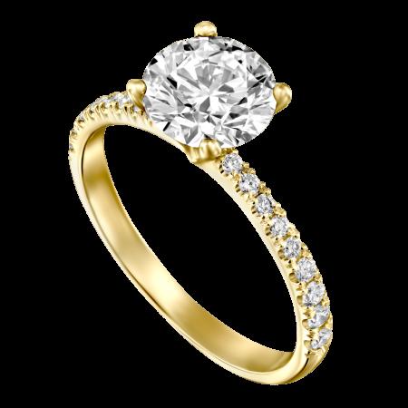 DIamond engagement ring 1ct